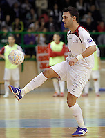 Caja Segovia's Alejandro Palomeque during Spanish National Futsal League match.November 24,2012. (ALTERPHOTOS/Acero) /NortePhoto