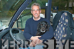 Deros Tours Boo with his owner Michael O'Sullivan who helps him take tourists around the Ring of Kerry   Copyright Kerry's Eye 2008