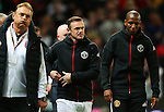 Wayne Rooney of Manchester United starts on the bench during the UEFA Europa League match at Old Trafford Stadium, Manchester. Picture date: September 29th, 2016. Pic Matt McNulty/Sportimage