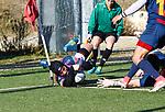 Alvar Gimeno, FC Barcelona 31 42 VRAC Quesos Entrepinares, Stadio La Teixonera, Barcelona. Jornada 12, Liga Heineken 2017/2018. Photo Martin SerasLima