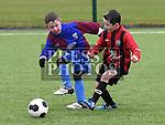 EMU Rockets Eoin Johnston Drogheda Town jamie O'Brien. Photo:Colin Bell/pressphotos.ie
