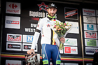 Guillaume Van Keirsbulck  (BEL/Wanty Groupe-Gobert)  remains leader after 2 races in the Napoleon Cycling Cup games <br /> <br /> 1st Dwars door West-Vlaanderen 2017 (1.1)
