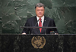 Address by His Excellency Petro Poroshenko, President of Ukraine
