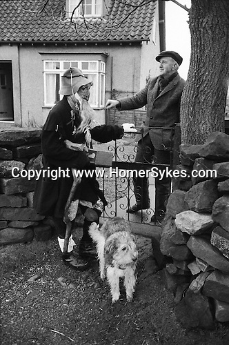 Goathland Plough, Stots, Goathland, North Yorkshire, England 1972. Old Isaac 'Old Isaac'<br />