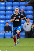 Jack Marriott of Peterborough United warms up ahead of the Sky Bet League 1 match between Peterborough and Oxford United at the ABAX Stadium, London Road, Peterborough, England on 30 September 2017. Photo by David Horn.