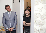 Andrew Lippa and Rachel Routh during The DGF's 14th Biannual Madge Evans & Sidney Kingsley Awards at the Dramatists Guild Fund headquarters on April 4, 2016 in New York City.