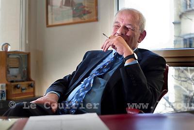 Genève, le 23.03.2011.Soli Pardo, membre du bureau directeur du MCG..© Jean-Patrick Di Silvestro / Le Courrier
