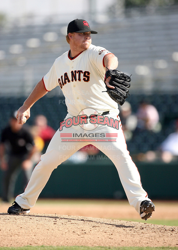 Jason Stoffel - Scottsdale Scorpions - 2010 Arizona Fall League.Photo by:  Bill Mitchell/Four Seam Images..