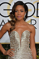 Naomie Harris at the 74th Golden Globe Awards  at The Beverly Hilton Hotel, Los Angeles USA 8th January  2017<br /> Picture: Paul Smith/Featureflash/SilverHub 0208 004 5359 sales@silverhubmedia.com