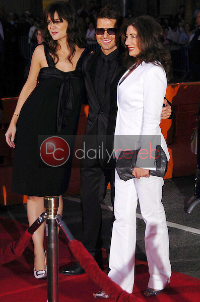 Katie Holmes with Tom Cruise and Paula Wagner<br />