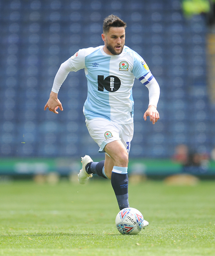 Blackburn Rovers' Craig Conway<br /> <br /> Photographer Kevin Barnes/CameraSport<br /> <br /> The EFL Sky Bet Championship - Blackburn Rovers v Swansea City - Sunday 5th May 2019 - Ewood Park - Blackburn<br /> <br /> World Copyright © 2019 CameraSport. All rights reserved. 43 Linden Ave. Countesthorpe. Leicester. England. LE8 5PG - Tel: +44 (0) 116 277 4147 - admin@camerasport.com - www.camerasport.com