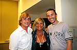 Guiding Light's Kim Zimmer and her two sons Max & Tom Pelphrey at the 5th Annual Rock show for charity to benefit the American Red Cross on October 9, 2009 at the American Red Cross Headquarters, New York City, New York. (Photos by Sue Coflin/Max Photos)