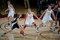 STANFORD, CA - NOVEMBER 9: Kayla Pedersen at Maples Pavilion, November 9, 2010 in Stanford, California.