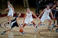 STANFORD, CA - NOVEMBER 9: Kayla Pedersen at Maples Pavilion, November 9, 2010 in Stanford, California.