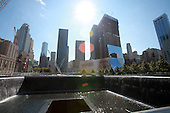 The World Trade Center site in New York, New York, two days before the 10th anniversary of the 9/11 attacks on September 9, 2011..Credit: Sipa Press via CNP