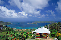 Trinidad & Tobago, Commonwealth, Tobago, Speyside: Tyrrels Bay with Goat Island and Little Tobago