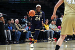 WINSTON-SALEM, NC - DECEMBER 31: Notre Dame's Arike Ogunbowale. The Wake Forest University Demon Deacons hosted the Notre Dame University Fighting Irish on December 31, 2017 at Lawrence Joel Veterans Memorial Coliseum in Winston-Salem, NC in a Division I women's college basketball game. Notre Dame won the game 96-73.