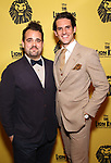 Greg Hildreth and Kevin Del Aguila attends the 20th Anniversary Performance of 'The Lion King' on Broadway at The Minskoff Theatre on November e, 2017 in New York City.