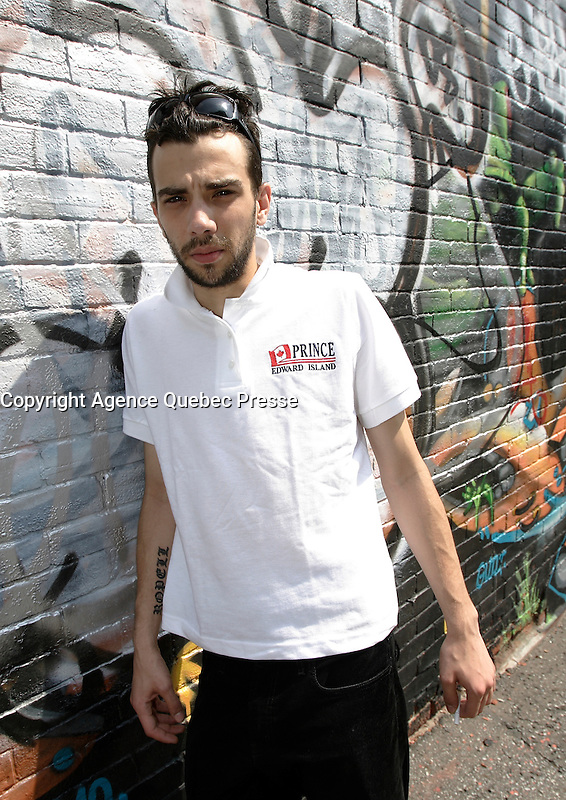 Montreal CANADA- 2007 file photo-<br /> Jay Baruchel , actor, film maker and DOP.