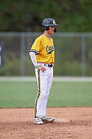 Johnny Castagnozzi (5) during the WWBA World Championship at the Roger Dean Complex on October 12, 2019 in Jupiter, Florida.  Johnny Castagnozzi attends Massapequa High School in Massapequa Park, NY and is committed to North Carolina.  (Mike Janes/Four Seam Images)