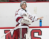 Peter Traber (Harvard - 32) - The Harvard University Crimson defeated the visiting Colgate University Raiders 7-4 (EN) on Saturday, February 20, 2016, at Bright-Landry Hockey Center in Boston, Massachusetts,