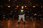 "Roddy Kennedy on stage during The Rockefeller Foundation and The Gilder Lehrman Institute of American History sponsored High School student #eduHam matinee performance of ""Hamilton"" Q & A at the Richard Rodgers Theatre on November 7, 2018 in New York City."