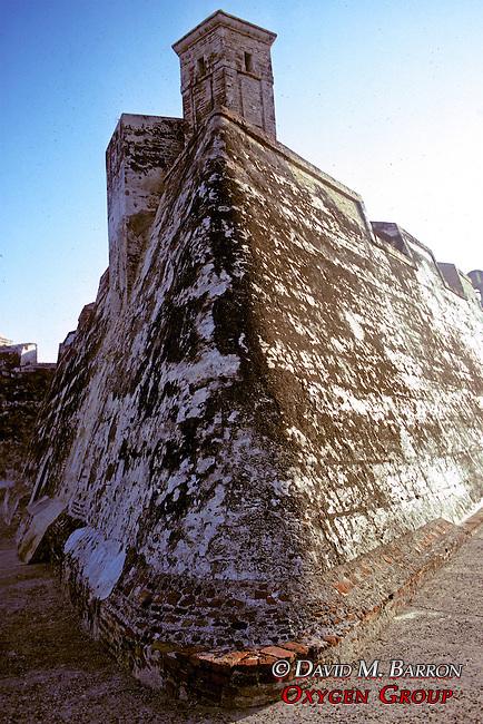 Castle Walls Of Cartagena