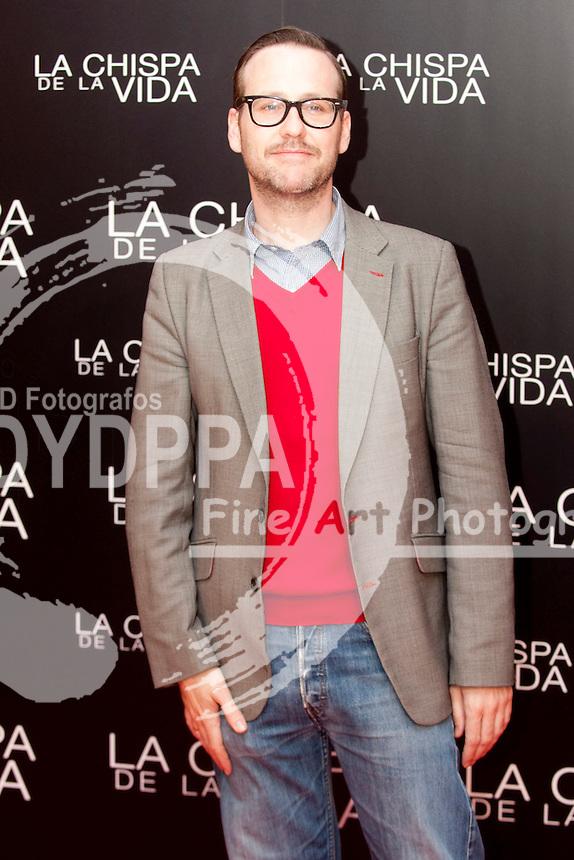 """12/01/2012. Callao Cinema. Madrid. Spain. """"La chispa de la vida"""" premiere. Joaquin Reyes"""