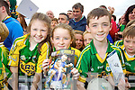 Orna O'Leary Eileen O'Leary (Farranfore) Darren Dineen (Farranfore) Kerry Senior footballers at Kerry GAA family day at Fitzgerald Stadium on Saturday.