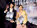 "Shuntaro Yanagi and Rina Ohta, Apr 03, 2012 : Tokyo, Japan : Japanese model Shuntaro Yanagi(L) and Rina Ota attend the world premiere for the film ""Battleship"" in Tokyo, Japan, on April 3, 2012.The film will open on April 13 in Japan."