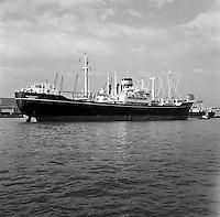 Oktober 1966. Schio Jaladharma uit Bombay in de Haven van Antwerpen.