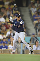 05/31/12 Los Angeles, CA: Milwaukee Brewers third baseman Aramis Ramirez #16 during an MLB gamebetween the Milwaukee Brewers and the Los Angeles Dodgers played at Dodger Stadium. The Brewers defeated the Dodgers 6-2.