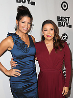 LOS ANGELES, CA - NOVEMBER 8: Andrea Navedo, Eva Longoria, at the Eva Longoria Foundation Dinner Gala honoring Zoe Saldana and Gina Rodriguez at The Four Seasons Beverly Hills in Los Angeles, California on November 8, 2018. Credit: Faye Sadou/MediaPunch
