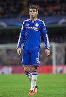 Oscar of Chelsea during the UEFA Champions League Group G match between Chelsea and Dynamo Kyiv at Stamford Bridge, London, England on 4 November 2015. Photo by Andy Rowland.