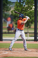 Houston Astros J.J. Matijevic (63) during a Minor League Spring Training Intrasquad game on March 28, 2018 at FITTEAM Ballpark of the Palm Beaches in West Palm Beach, Florida.  (Mike Janes/Four Seam Images)