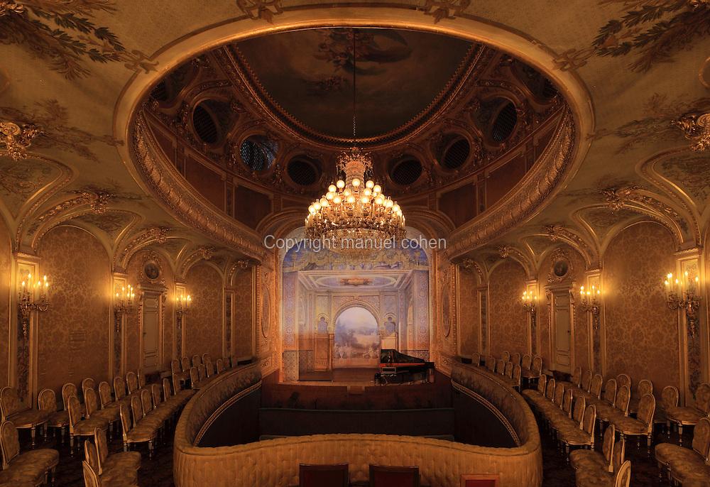 Theatre Imperial Napoleon III de Fontainebleau, Seine-et