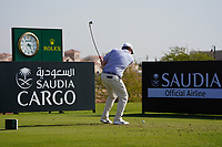 Robert MacIntyre (SCO) on the 11th during Round 1 of the Saudi International at the Royal Greens Golf and Country Club, King Abdullah Economic City, Saudi Arabia. 30/01/2020<br /> Picture: Golffile | Thos Caffrey<br /> <br /> <br /> All photo usage must carry mandatory copyright credit (© Golffile | Thos Caffrey)