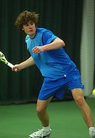 10-3-06, Netherlands, tennis, Rotterdam, National indoor junior tennis championchips, Danny Potappel