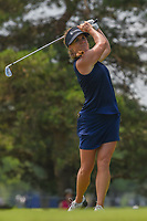Dani Holmqvist (SWE) watches her tee shot on 3 during round 3 of the 2018 KPMG Women's PGA Championship, Kemper Lakes Golf Club, at Kildeer, Illinois, USA. 6/30/2018.<br /> Picture: Golffile | Ken Murray<br /> <br /> All photo usage must carry mandatory copyright credit (&copy; Golffile | Ken Murray)