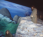 Re-creation of monastic life, Skellig Experience Centre, Valentia Island, County Kerry, Ireland