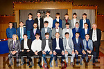 Castlegregory Minors pictured at their social last Saturday night in the Ballyroe heights hotel, Tralee with the one and only Colm ' Gooch' Cooper sitting front.