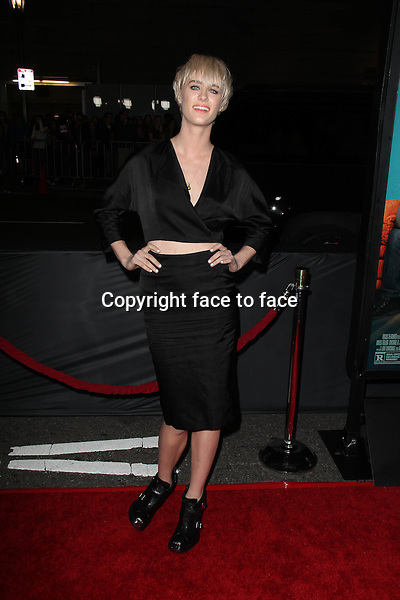 LOS ANGELES, CA - January 27: Mackenzie Davis at the &quot;That Awkward Moment&quot; Premiere, Regal Cinemas, Los Angeles, January 27, 2014. <br />