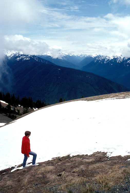 WA: Washington State; Olympic National Park, Hurricane Ridge      .Photo Copyright: Lee Foster, lee@fostertravel.com, www.fostertravel.com, (510) 549-2202.Image: waolym213