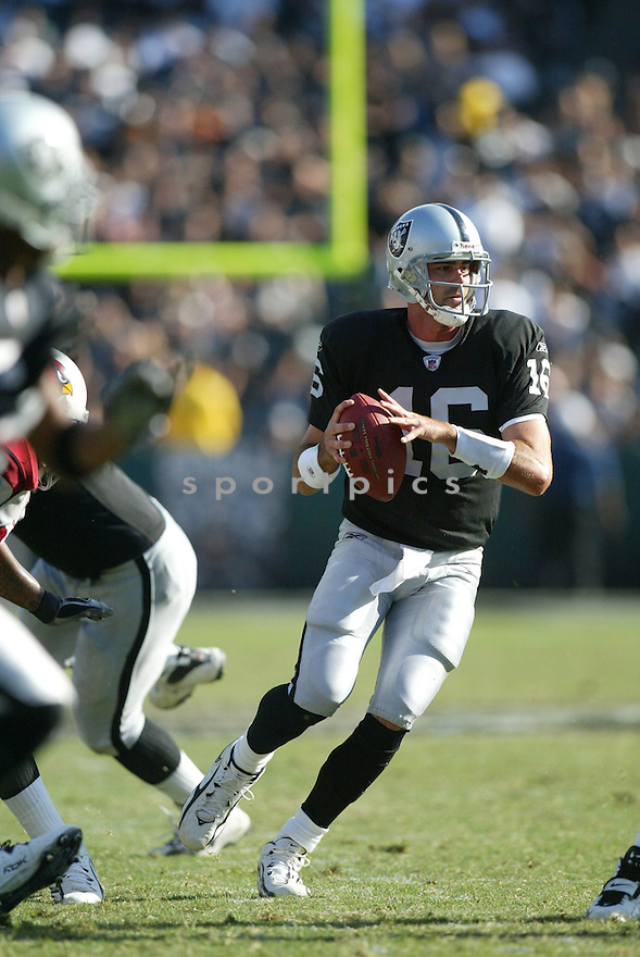 ANDREW WALTER, of the Arizona Cardinals, in action against the Oakland Raiders on October 22, 2006 in Oakland, CA..Raiders win 22-9..Rob Holt / SportPics.