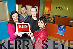 VOTE: Vote for Jigsaw Kerry who have been shortlisted to win €10,000 from the EBS. Pictured were: Mairead O'Sullivan (Co-ordinator), Micke Costello, Mike Moriarty and Elma Griffin