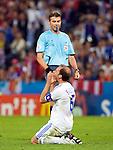 Roberto Rosetti and Angelos Basinas at Euro 2008, RUS-GRE, 06142008, Salzburg, Austria