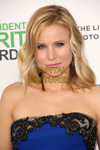 SANTA MONICA, CA - March 01: Kristen Bell at the 2014 Film Independent Spirit Awards Arrivals, Santa Monica Beach, Santa Monica,  March 01, 2014. Credit: Janice Ogata/MediaPunch<br /> CAP/MPI/JO<br /> &copy;JO/MPI/Capital Pictures