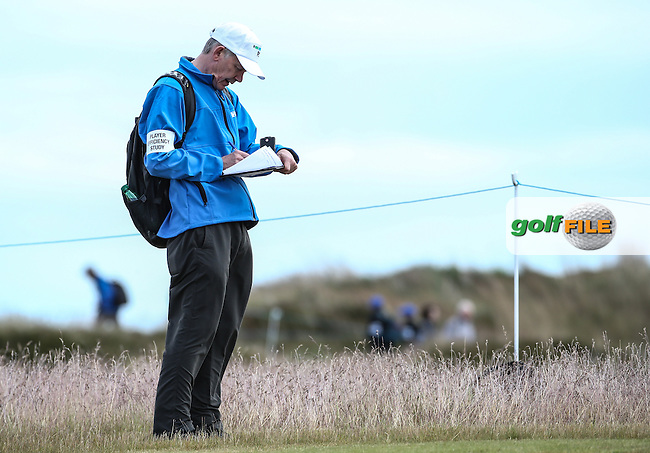 RSM Player efficiency study being held during the First Round of the 2016 Aberdeen Asset Management Scottish Open, played at Castle Stuart Golf Club, Inverness, Scotland. 07/07/2016. Picture: David Lloyd | Golffile.<br /> <br /> All photos usage must carry mandatory copyright credit (&copy; Golffile | David Lloyd)