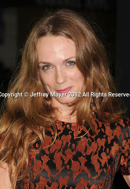 WESTWOOD, CA - OCTOBER 01: Kerry Condon arrives at the Los Angeles premiere of 'Seven Psychopaths' at Mann Bruin Theatre on October 1, 2012 in Westwood, California.