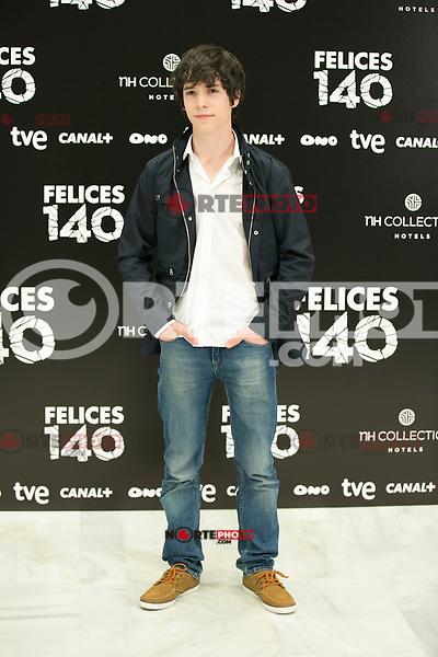 "attend the Presentation of ""Happy 140"" (Felices 140) Movie at Eurobuilding Hotel, Madrid,  Spain. April 07, 2015.(ALTERPHOTOS/)Carlos Dafonte) /NORTEphoto.com"